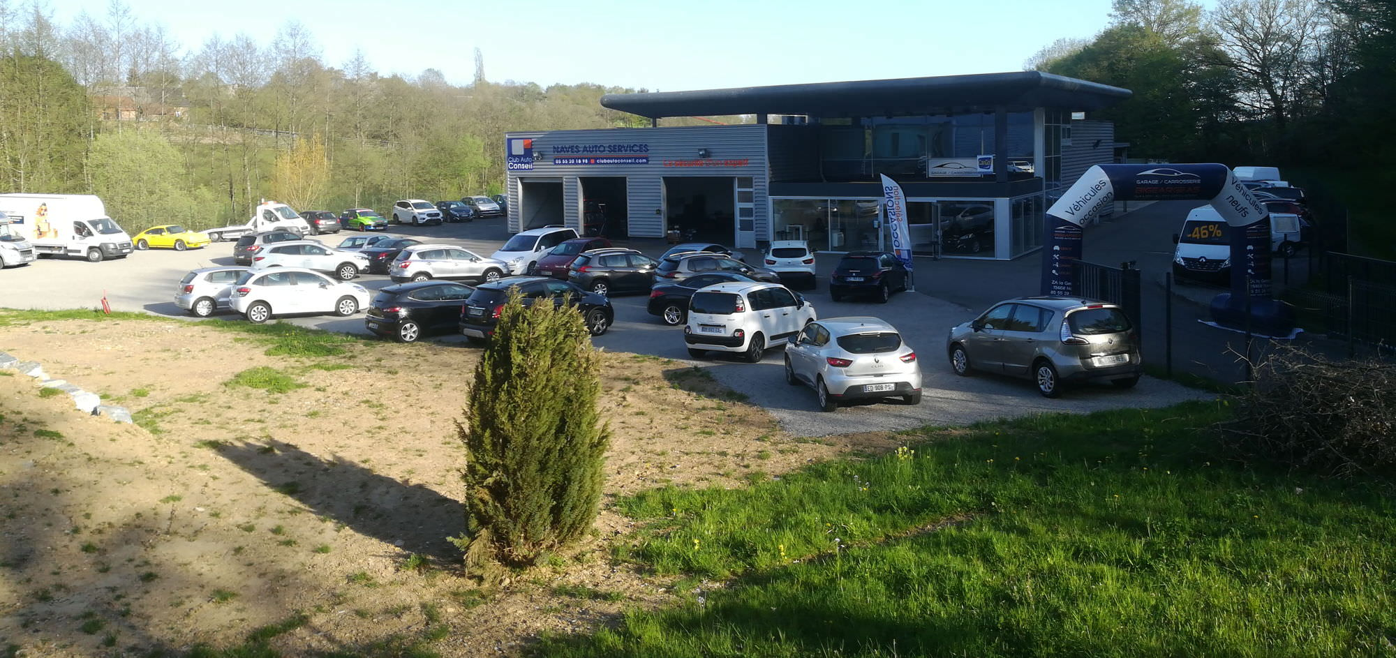 photo Naves Auto Services - Carrosserie Bigeargeas