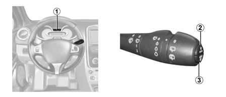 comment enlever l 39 indicateur de r vision sur une clio. Black Bedroom Furniture Sets. Home Design Ideas